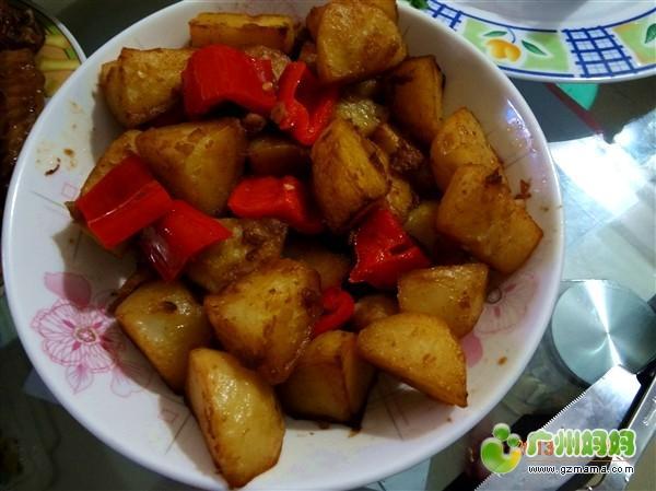 春节 美味/4.蒜茸西兰花and红烧鸡翅